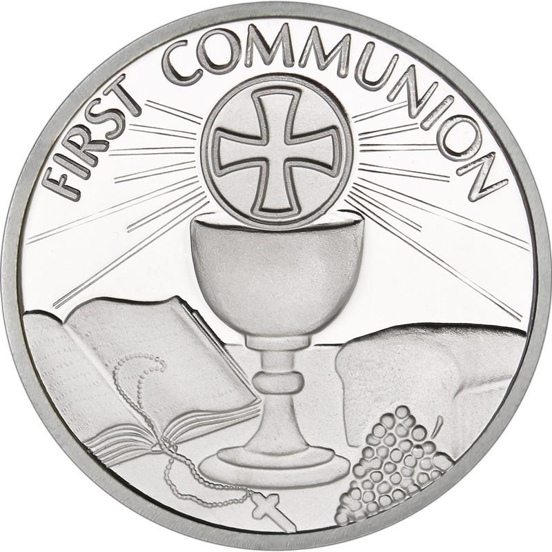 first communion medallion goldnsilver com