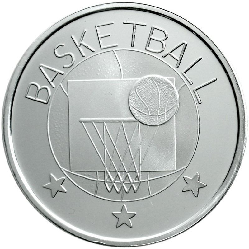Basketball Medallion Goldnsilver Com